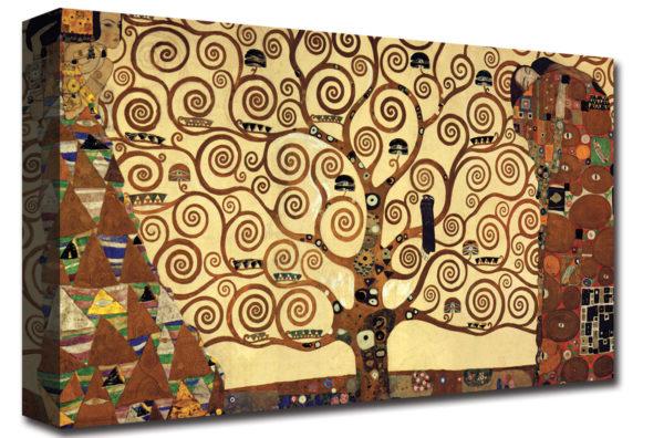 quadro Moderno stampa su tela L'albero della vita Klimt