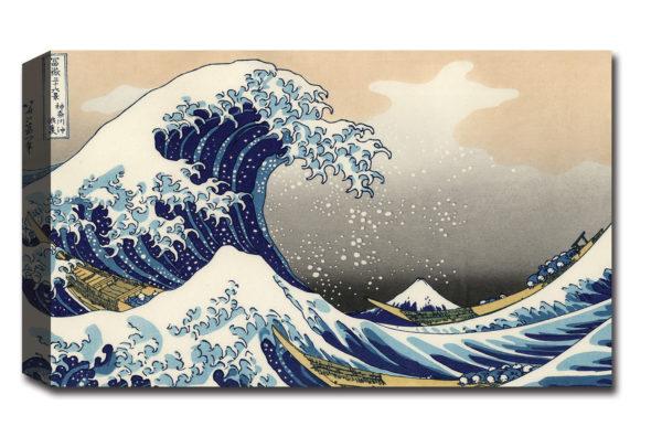 Quadro Moderno Onda Hokusai