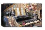 Quadro Moderno Pianoforte